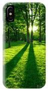 Green Park IPhone Case