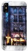 Green Pipes Of Pompidou Center Paris IPhone Case