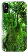 Green Rain Forest IPhone Case