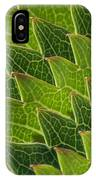 Green Scales Of A Dragon IPhone Case