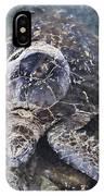 Green Sea Turtle Hawaii IPhone Case
