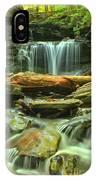 Green Spring Cascades IPhone Case