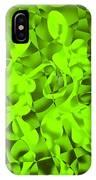Green Tango Rhythms IPhone Case