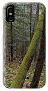 Green Timber IPhone Case