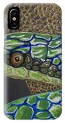 Green Tree Snake IPhone Case
