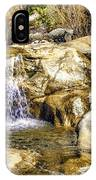 Green Valley Falls Winter IPhone Case
