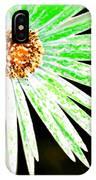 Green Vexel Flower IPhone Case