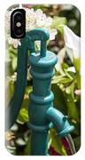 Green Water Pump IPhone Case