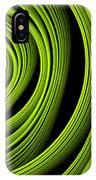 Green Wellness IPhone Case