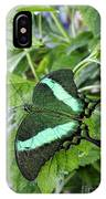 Green Wings 2 IPhone Case