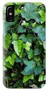 Green With Ivy IPhone Case