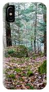 Green Woodland Beauty IPhone Case