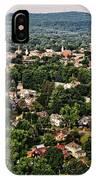 Greenfield Massachusets... IPhone Case