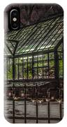 Greenhouse In Winter #2 IPhone Case