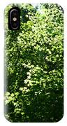 Greenleaves IPhone Case