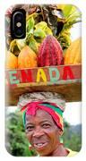 Grenada Spice Woman. IPhone Case