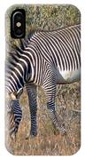 Grevys Zebra IPhone Case