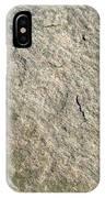 Grey Rock Texture IPhone Case