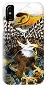 Griffin In Waterfall IPhone Case