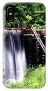 Grist Mill And Water Trough IPhone Case