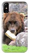 Grizzly Bear 01 IPhone Case