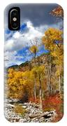 Grizzly Creek Cottonwoods IPhone Case