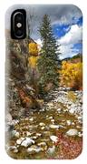 Grizzly Creek Cottonwoods Vertical IPhone Case