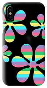 Groovy Flowers 4 IPhone Case