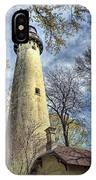 Grosse Point Lighthouse Color IPhone Case