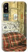 Front Porch - Ground Zero Blues Club Clarksdale Ms IPhone Case