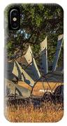 Grounded Windmill IPhone Case