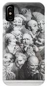 Group Of Thirty-five Heads IPhone Case