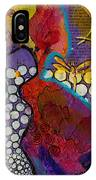 Growing In Grace IPhone Case