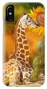 Growing Tall - Giraffe IPhone Case