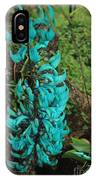 Growing Turquoise IPhone Case