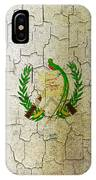 Grunge Guatemala Flag IPhone Case