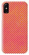 Grunge Halftone Background. Halftone IPhone X Case