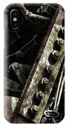 Grunge Industrial Machinery IPhone Case
