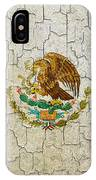 Grunge Mexico Flag IPhone Case