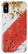 Grunge Stripe Background IPhone Case