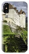 Gruyeres Castle IPhone Case