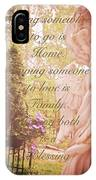 Guardian Angel Blessings IPhone Case