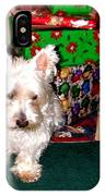 Guarding Christmas IPhone Case
