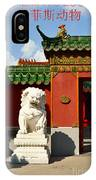 Guarding The Gate IPhone Case