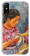 Guatemala Impression IIi IPhone Case
