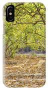 Guava Garden In Autumn IPhone Case