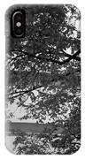 Guggenheim And Trees In Black And White IPhone Case