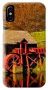 Guildhall Grist Mill IPhone Case