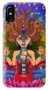 Guitar Goddess IPhone Case