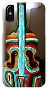 Guitar Vase IPhone Case